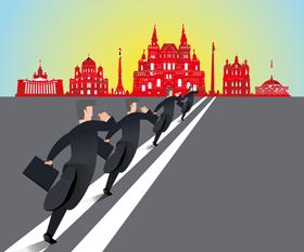 Поход на Восток: победившие и проигравшие западные банки