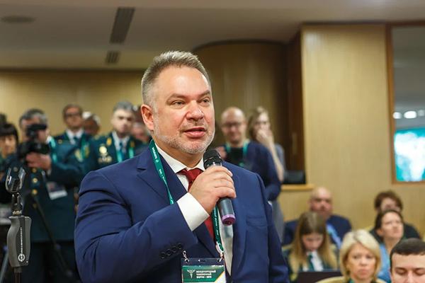 Андрей Баринов, президент Национальной ассоциации таможенных представителей. Фото: Павел Косолапов/CustomsForum.ru