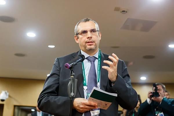 Евгений Кошкаров, вице-президент Гильдии «Гермес». Фото: Павел Косолапов/CustomsForum.ru