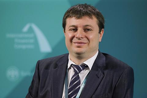 Сергей Хотимский (Совкомбанк). Фото: Игорь Руссак / Росконгресс
