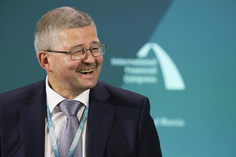 Дмитрий Тулин (Банк России). Фото: Игорь Руссак / Росконгресс