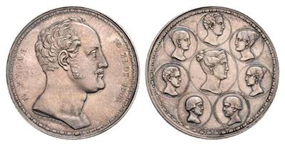 1½ рубля — 10 злотых 1835 года