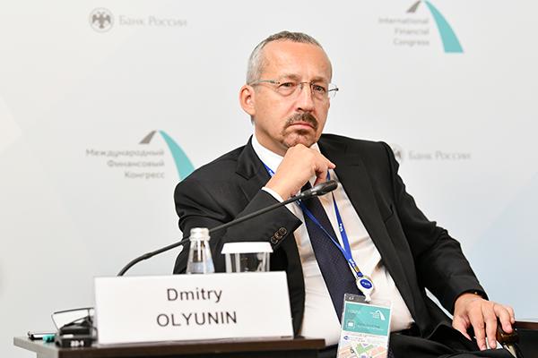 Дмитрий Олюнин, ВТБ. Фото - Дмитрий Андреев, Росконгресс