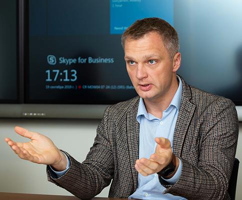 Андрей Горяйнов (SAP CIS). Фото: Елена Сычева / «Б.О»