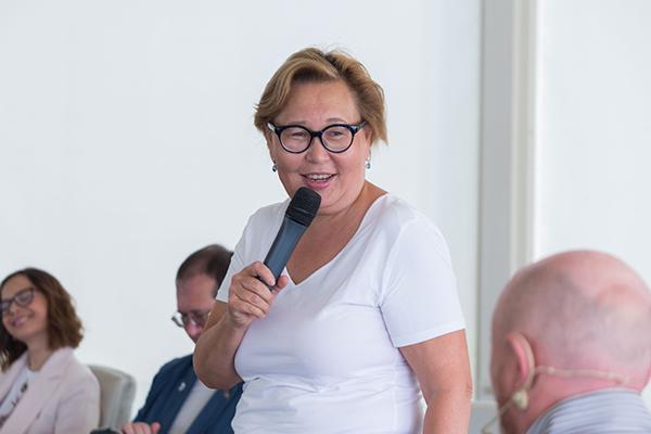Алма Обаева, председатель правления Национального платежного совета (НПС). Фото: «Б.О»