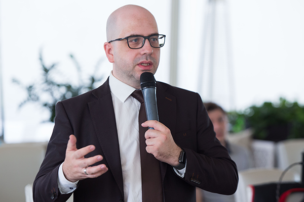 Александр Гришин, генеральный директор компании «Казначейские Системы». Фото: «Б.О»