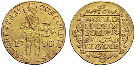 Екатерининский золотой дукат 1780года, Источник: Lifejournal