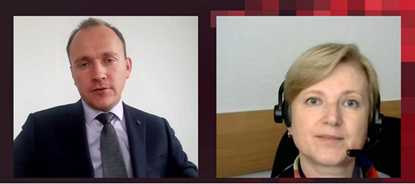 Юрий Хомутский (Cnews) и Екатерина Недосекина («Диасофт»)