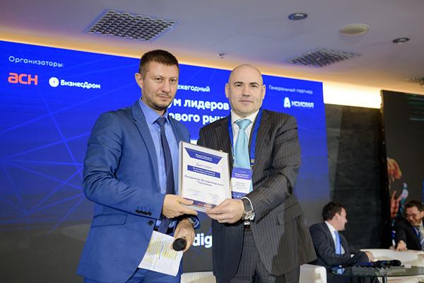 Слева: Павел Самиев («БизнесДром»), справа: Владимир Черников («Ингосстрах-Жизнь»)