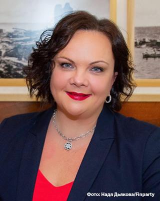 Татьяна Ведькалова, директор по управлению персоналом БАНКА УРАЛСИБ. Фото: Надя Дьякова/Finparty