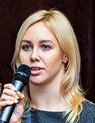 Анастасия Волжина, руководитель группы по работе с клиентами малого исреднего бизнеса департамента транзакционного бизнеса МКБ