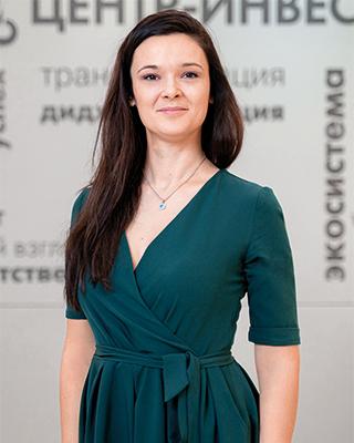 Мария Христолюбова, заместитель начальника управления по работе с МСБ банка «Центр-инвест»