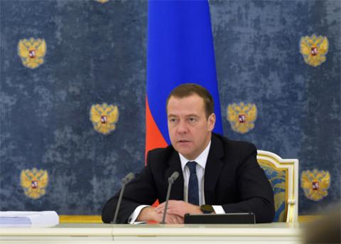 Дмитрий Медведев, Премьер-министр РФ. Фото: Александр Астафьев / РИА Новости