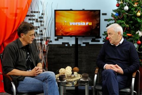 Ян Арт, Finversia.ru и Анатолий Аксаков, Госдума РФ. Фото: Альберт Тахавиев, Finversia.ru