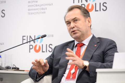 Эдди Астанин, НРД. Фото: Евгений Реутов / Росконгресс