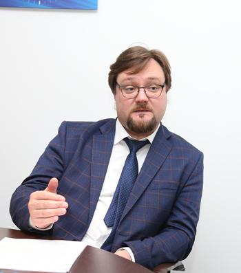 Артем Бабинков, «ВТБ Регистратор». Фото: Михаил Бибичков / «Б.О»
