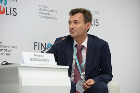 Алексей Богданов, «ФИНАМ». Фото: Артур Лебедев / Росконгресс