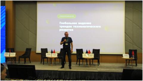 Александр Погудин, член совета директоров ГК ЦФТ. Фото Вадим Ференец / «Б.О»