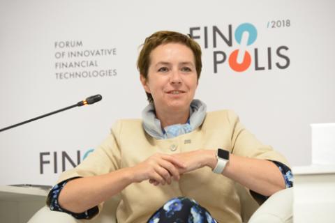 Ольга Дергунова, ВТБ. Фото: Артур Лебедев / Росконгресс