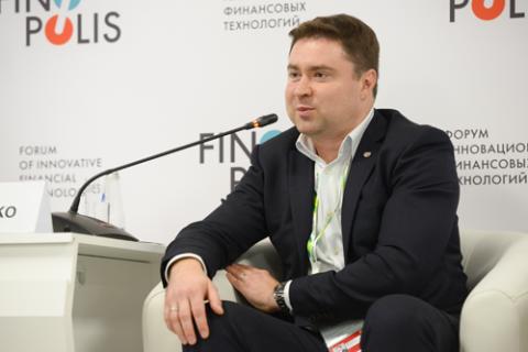 Максим Еременко, Сбербанк. Фото: Артур Лебедев / Росконгресс