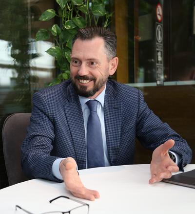 Виктор Климов, ОНФ «За права заемщиков». Фото: Михаил Бибичков / «Б.О»