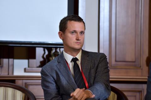 Кирилл Косьминский, Ассоциация операторов инвестиционных платформ. Фото: Альберт Тахавиев / «Б.О»