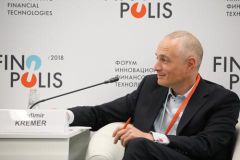 Владимир Кремер, AIG в России. Фото: Вячеслав Викторов / Росконгресс