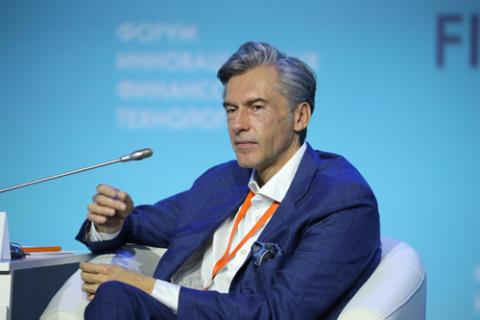 Вадим Кулик, Газпромбанк. Фото: Вячеслав Викторов / Росконгресс