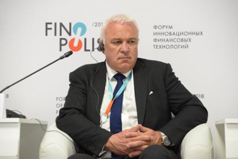 Гэвин Литлджон, Ассоциация финансовых данных и технологий (FDATA). Фото: Артур Лебедев / Росконгресс