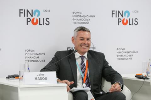 Джон Мэйсон, Financial & Risk Thomson Reuters. Фото: Сергей Кулаков / Росконгресс
