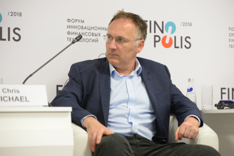 Крис Майкл, Open Banking Limited. Фото: Артур Лебедев / Росконгресс