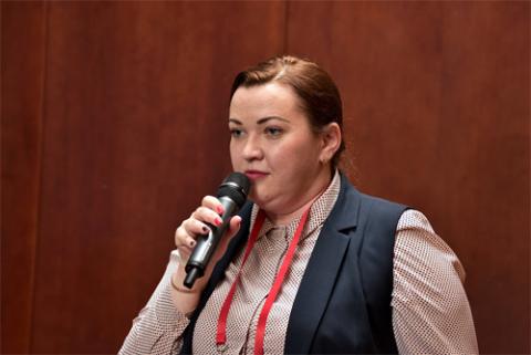 Наталья Штевнина, Единое расчетное и информационное пространство». Фото: Альберт Тахавиев / «Б.О»