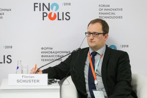 Флориан Шустер, Национальный банк Австрии. Фото: Сергей Кулаков / Росконгресс