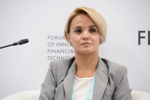 Екатерина Волынец, «Мобильные платежные сервисы». Фото: Евгений Реутов / Росконгресс