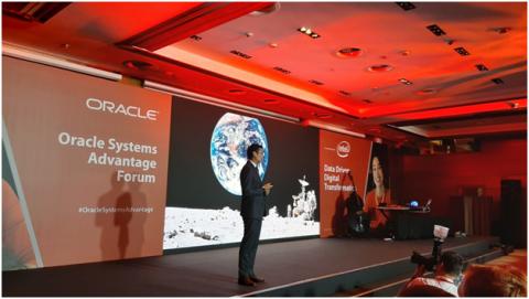 Чонг Хенг Хан, старший Вице-президент, Oracle Systems в регионе EMEA, APAC и Япония. Фото: Вадим Ференец/«Б.О»