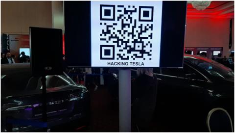 Взломай автомобиль Tesla, Фото: Вадим Ференец, «Б.О»