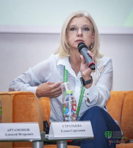 Елена Стратьева, РМЦ. Фото: Оргкомитет