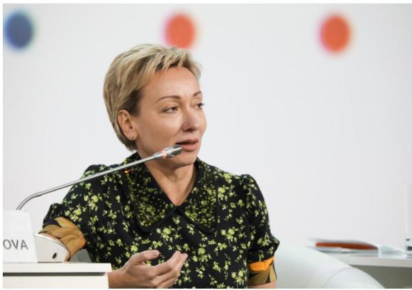 Ольга Скоробогатова (Банк России). Фото: Росконгресс/Вячеслав Викторов