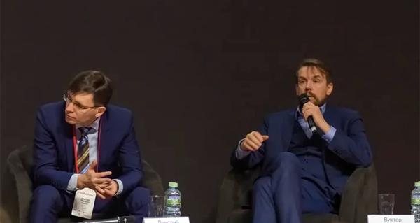 Дмитрий Первухин, банк «Открытие» и Виктор Жидков, банк «Веста». Фото: Futurebanking.ru