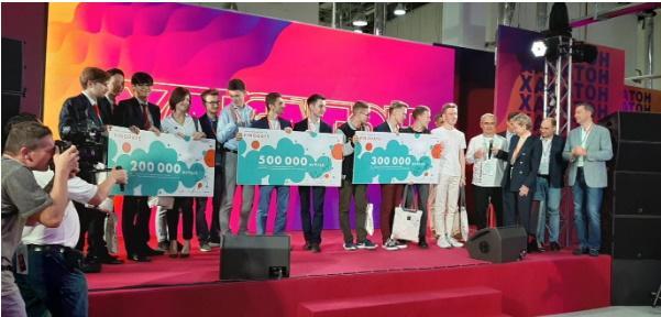 Церемония награждения победителей Хакатона. Фото: Вадим Ференец («Б.О»)