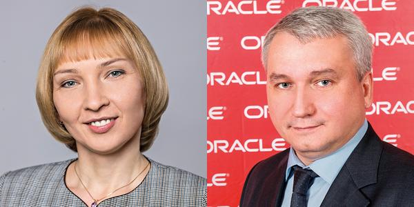Лариса Фомина, ВТБ и Андрей Пивоваров, Oracle в России и СНГ.Фото: ВТБ, Oracle