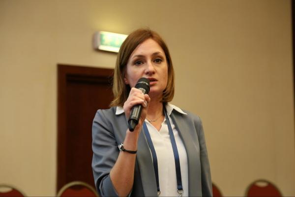 Екатерина Маландий («ДОМ.РФ»). Фото: Антон Лезнев/«БизнесДром»