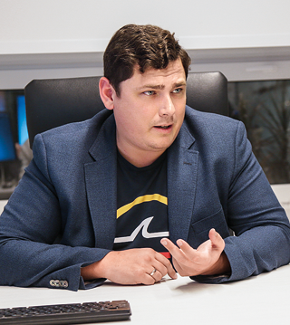 Дмитрий Костенко, банк «Сфера». Фото: Антон Лезнев / «Б.О»