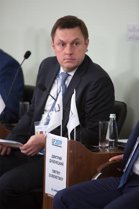 Дмитрий Дубенецкий («ДОМ.РФ»). Фото: Пресс-служба ПМЮФ