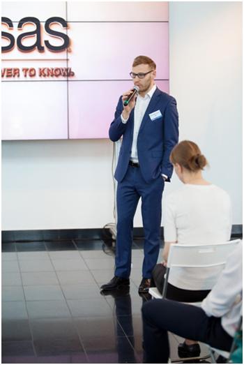 Александр Чуричев, руководитель практики управления рисками компании SAS Россия/СНГ. Фото: SAS